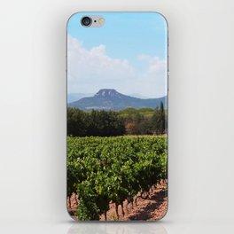 Vinyard in France iPhone Skin