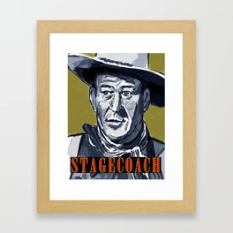 Stagecoach Framed Art Print