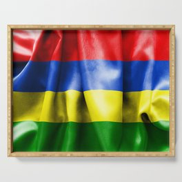 Mauritius Flag Serving Tray