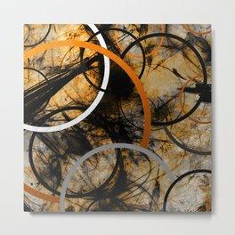 Rustic Hypnosis Metal Print