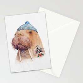 Tattooed Walrus Stationery Cards