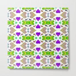 I Heart Color Metal Print