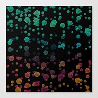 gravity Canvas Prints featuring Gravity  by SensualPatterns