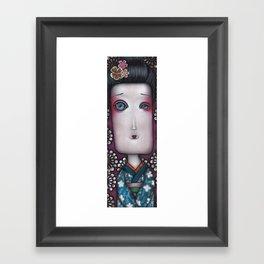 Inevitable silense  Framed Art Print