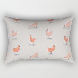 Chicken Pattern Rectangular Pillow