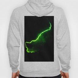 Chartreuse Lightning Hoody