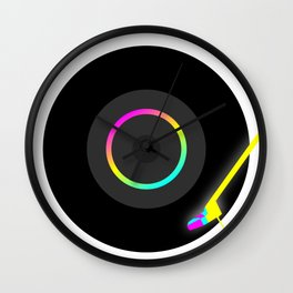 Turn the Table Wall Clock