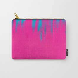 Pink and Blue Abstract 42 Carry-All Pouch