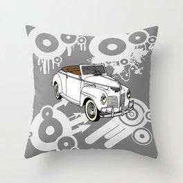 unique car I Throw Pillow