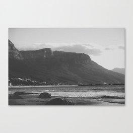 Winter in Cape Town Canvas Print