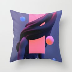 weary I Throw Pillow