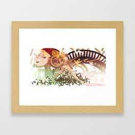 50 Caly Framed Art Print