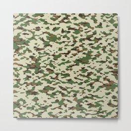 Camouflage: Arid Desert I Metal Print