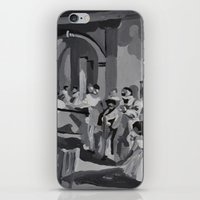 degas iPhone & iPod Skins featuring Degas Master Study by Mallory Pearson