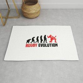 Rugby Evolution T Shirt Rugby Coach TShirt Rugby Team Shirt Evolution-Look Gift Idea Rug