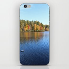 Heavenly Golden Reflection iPhone Skin
