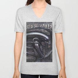 Alien Xenomorph Giger Unisex V-Neck
