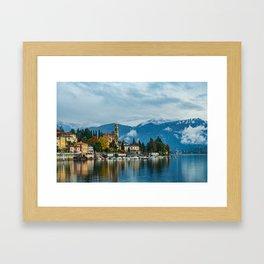 Tremezzo, Lake Como Framed Art Print
