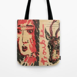 trouble, brave new world Tote Bag