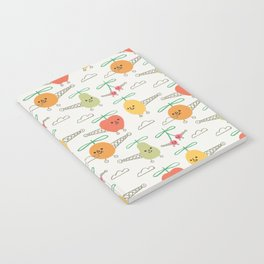Fruits Helicopter Notebook