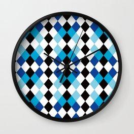 Pattern 28 Wall Clock