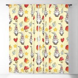 Cute gnome pattern Blackout Curtain