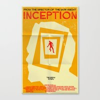 inception Canvas Prints featuring Inception  by Mark Welser