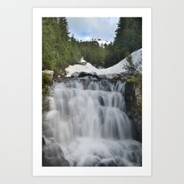 Sunbeam Falls Art Print