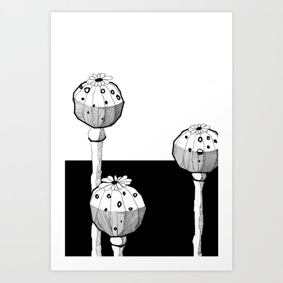 STATE OF INTOXICATION Art Print