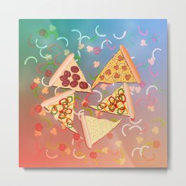 Pizza (A Reverie) Metal Print