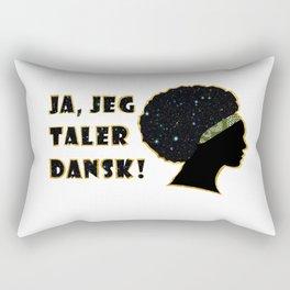 Ja, jeg taler dansk Rectangular Pillow