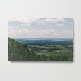 Canadian Mountain Lookout Metal Print