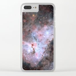 Stars in Space Astronomy Art Clear iPhone Case
