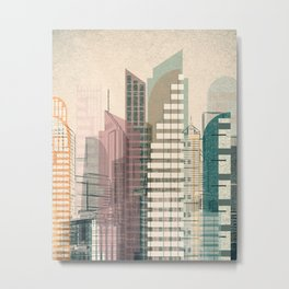 Theme for great cities No. 3 Metal Print