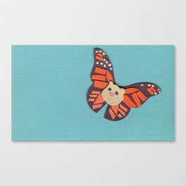 Mr. Cotton is a Butterfly Now? Canvas Print