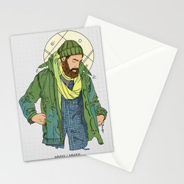Jesus from New York Stationery Cards