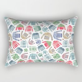 Christmas Jumpers! Rectangular Pillow