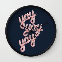 YAY YAY YAY! Wall Clock