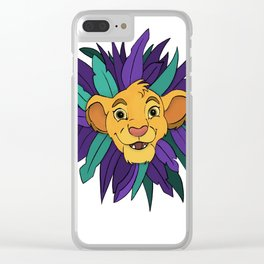 I just can't wait to be king Clear iPhone Case