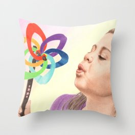 Child's Toy Throw Pillow