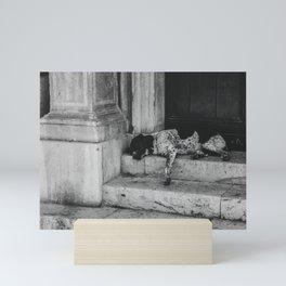 Sleeping dog Mini Art Print