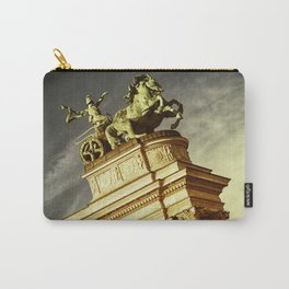 Statue of War on the Heroes Square in Budapest Carry-All Pouch
