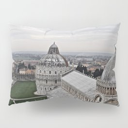 View From The Leaning Tower Pillow Sham