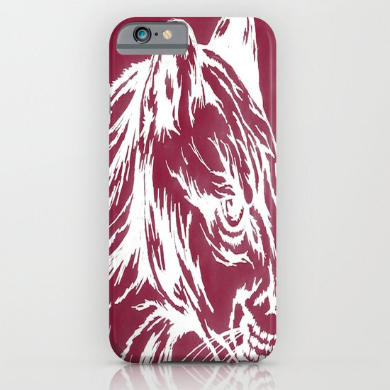 red cougar iPhone & iPod Case