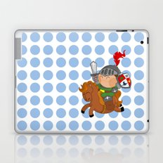 little knight with his horse Laptop & iPad Skin