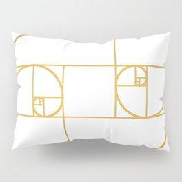 Golden Oval Pillow Sham