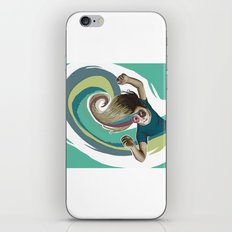 Donut try to understand (the wave) iPhone & iPod Skin