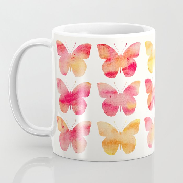 Butterflies Watercolor 1 Coffee Mug