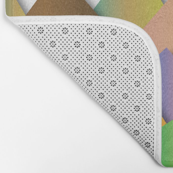 Mountains of Colorcombinations Bath Mat