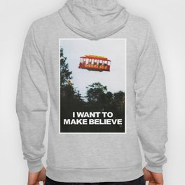 I WANT TO MAKE BELIEVE Fox Mulder x Mister Rogers Creativity Poster Hoody